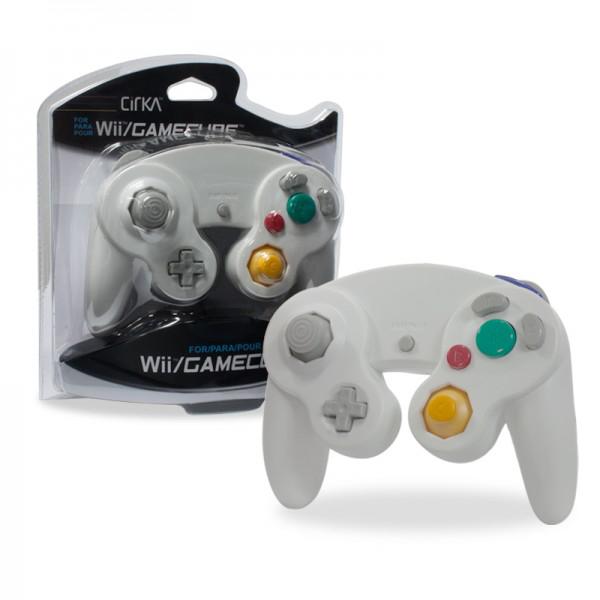 handkontroll gamecube wi vit